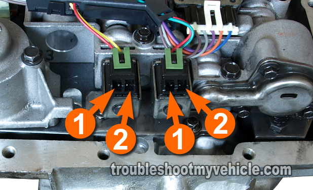 trouble shooting a faulty shift solenoid in your 4l80e