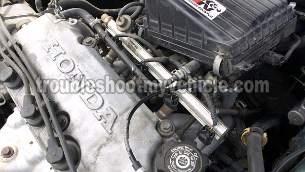 image_5 part 1 how to test the fuel injectors (1 6l honda civic)