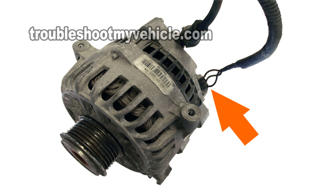 how to change an alternator on a 2005 ford focus