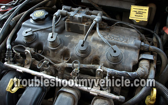chrysler 300 spark plug location