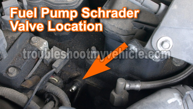 How To Test The Fuel Pump 2 on 95 ford taurus fuel filter location