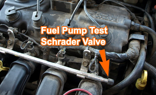 How To Test The Fuel Pump (Chrysler 2.0L, 2.4L)