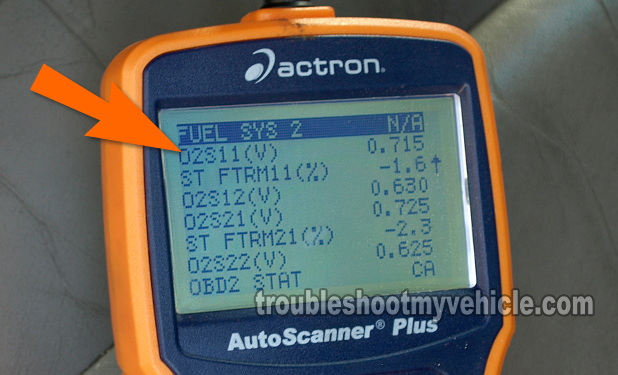 How To Test The Upstream Oxygen Sensor (GM 2.4L)