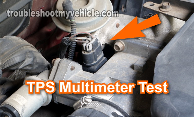 How To Test The Throttle Position Sensor (TPS) -2.3L Ford