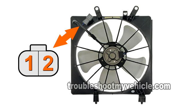 How To Test Radiator Fan Motor Relay (2001-2005 1.7L Honda Civic)