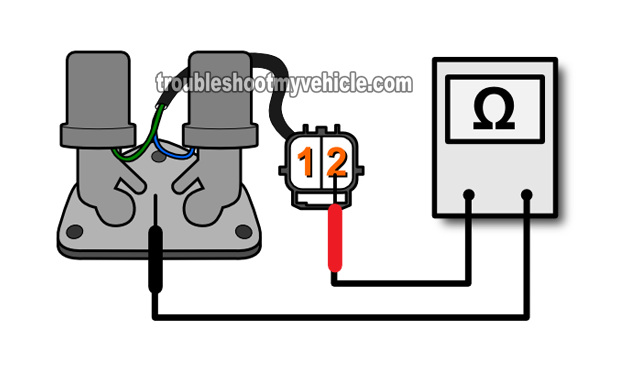 Shift Solenoid A And B Resistance Test. How to Test Shift Control Solenoid A And B (2001-2005 1.7L Honda)