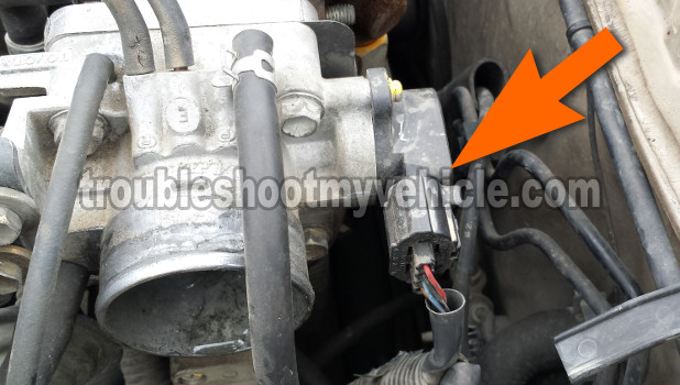 How To Test The Throttle Position Sensor (1992, 1993, 1994, 1995, 1996 Toyota Camry)