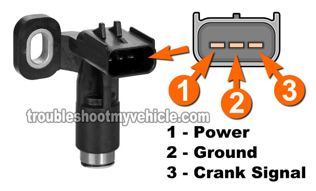 How To Test The Crankshaft Position Sensor (1998-2000 3.0L Chrysler V6)