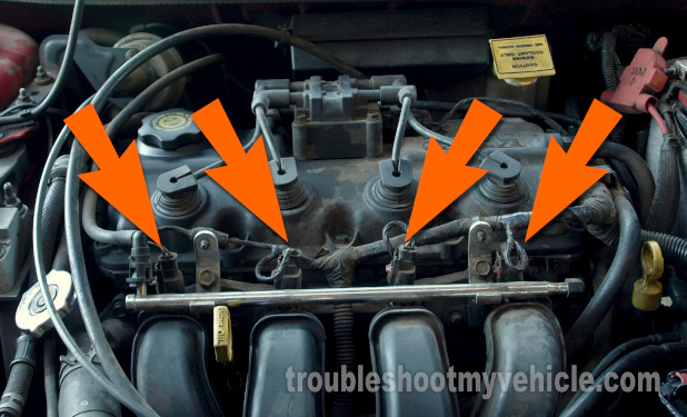 Part 1 -How to Test the Fuel Injectors (Chrysler 2 0L, 2 4L)
