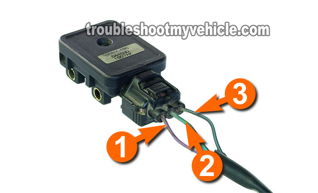 How To Test The Map Sensor P0107 P0108 Dodge 3 9l