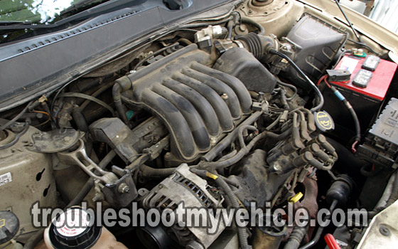 part 1 troubleshooting a no start condition ford 3 0l 3 8l rh troubleshootmyvehicle com Ford 3.0 V6 Engine Diagram Mazda 6 30 Motor