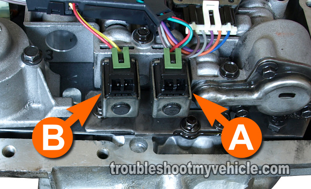Part 1 -Shift Solenoid A and B Tests (GM 4 3L, 5 0L, 5 7L)