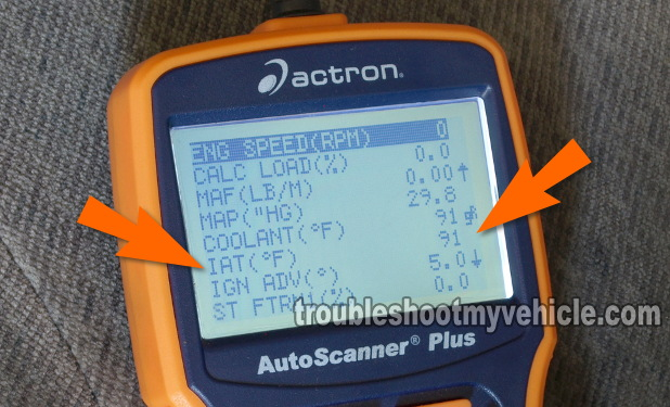 Part 2 -How to Test the IAT Sensor (Toyota 1 8L)