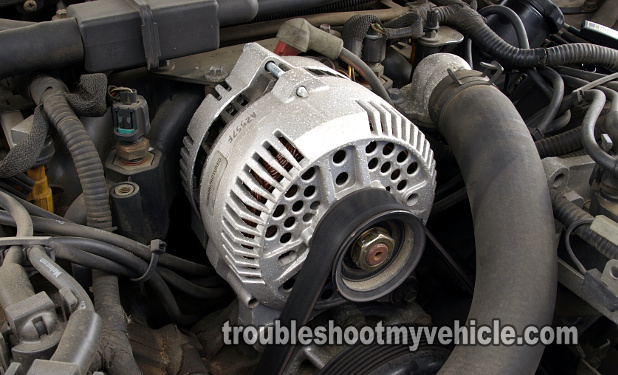 part 1 how to test the alternator (ford 4 6l, 5 4l) 2004 explorer charging system failure