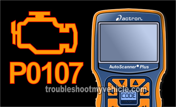 How To Test A P0107 Diagnostic Trouble Code (Chrysler 2.0L, 2.4L)