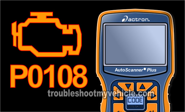 Part 1 P0108 MAP Sensor OBD II Trouble Code Chrysler 2 0L