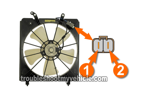 How To Test Radiator Fan Motor (Honda 2.2L, 2.3L)