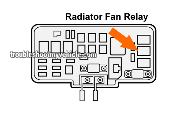 part    test  radiator fan relay honda