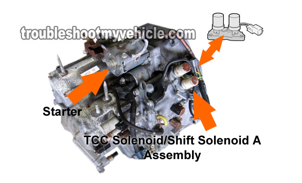 Part 1 How To Test Tcc Solenoid And Shift Solenoid A