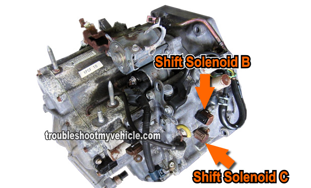 part 1 how to test shift solenoid b and c  honda 2 2l  2 3l Basic Engine Wiring Diagram Ford Wiring Harness Diagrams