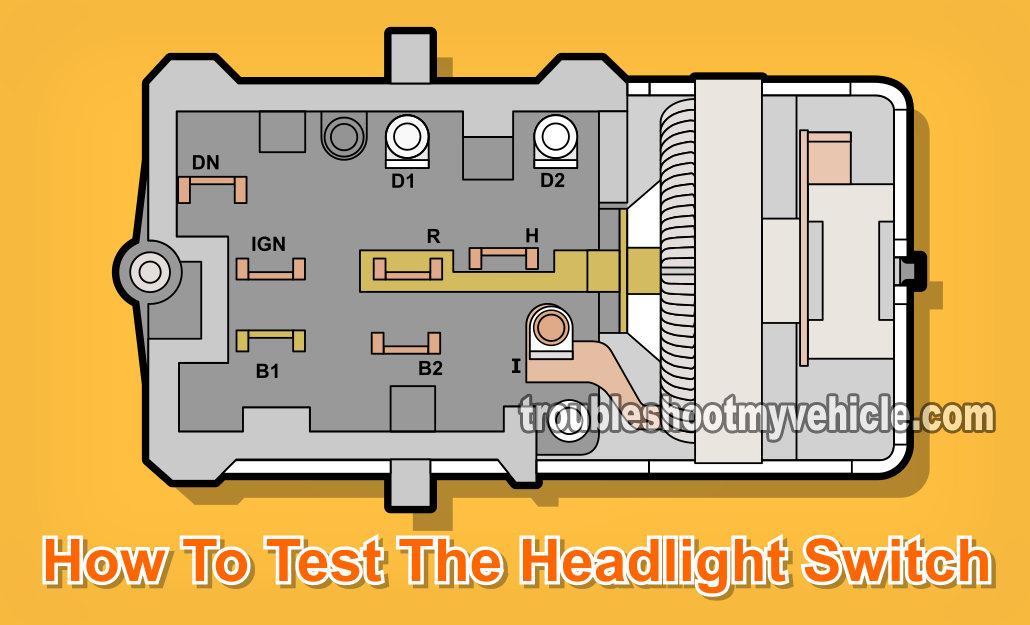 part 1 how to test the ford headlight switch how to test the headlight switch a multimeter ford 4 9l 5 0l