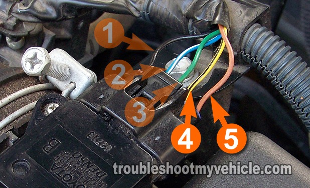 Part 1 How To Test The Iat Sesnor Toyota 18lrhtroubleshootmyvehicle: 93 Camry Intake Air Temp Sensor Location At Gmaili.net
