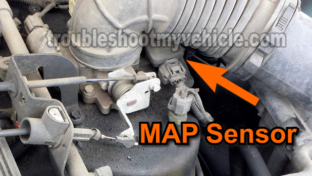 Part 1 How To Test The Map Sensor Jeep 40l 19972003rhtroubleshootmyvehicle: 2005 Jeep Grand Cherokee Map Sensor Location At Gmaili.net