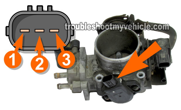 Part 1 How To Test The Tp Sensor 20012005 Honda 17lrhtroubleshootmyvehicle: Location Of Throttle Position Sensor Honda Odyssey At Gmaili.net