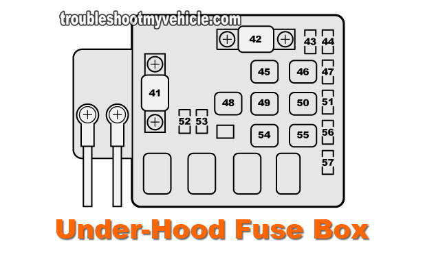 96 honda civic under hood fuse box diagram part 2 how to test the alternator  1996 2000 1 6l honda civic   1 6l honda civic