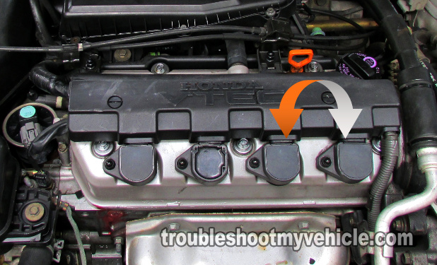 Part 2 -How to Test the Ignition Coils (2001-2005 1 7L Honda)