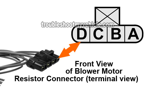 Part 1 How To Test The Blower Motor Resistor GM 4 3L 5 0L