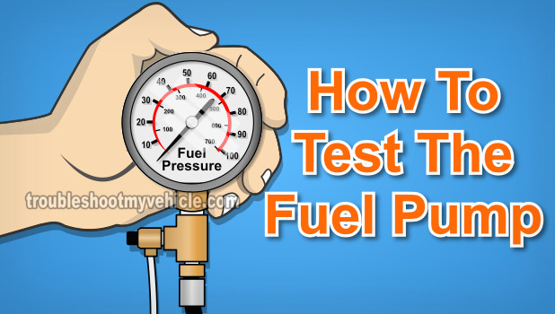 How To Test The Fuel Pump (1994-1999 2.0L Mazda 626)
