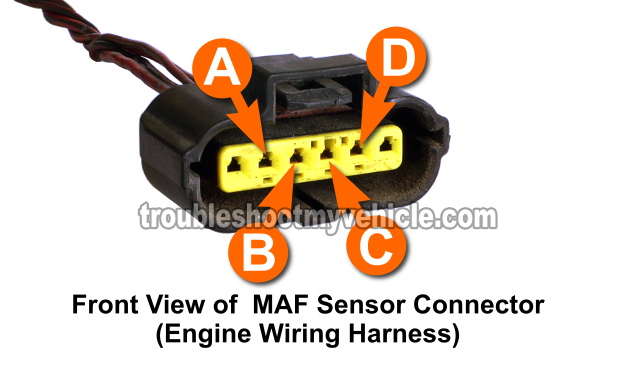 how to test the maf sensor (1996-1997 2 0l mazda 626)