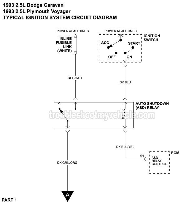 1993 Dodge Caravan Wiring Diagram Wiring Diagram View A View A Zaafran It